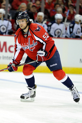 Washington Capitals D Mike Green.