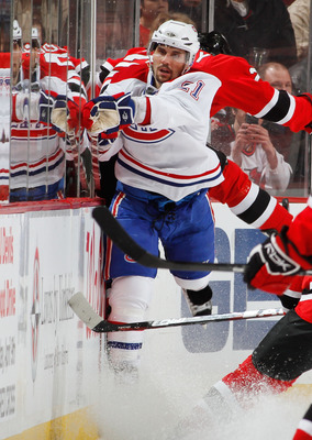 Brian Gionta of the Montreal Canadiens