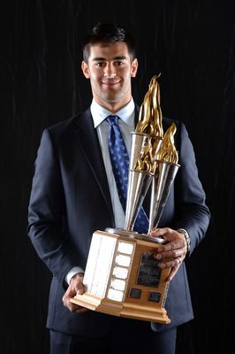 Max Pacioretty of the Montreal Canadiens and the Bill Masterton Memorial Trophy