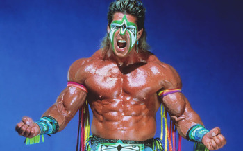 The Ultimate Warrior (photo from wwe.com)