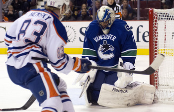 Roberto Luongo is back in Vancouver for the foreseeable future.
