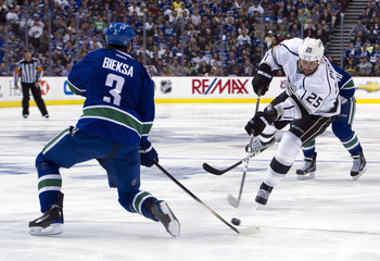 Kevin Bieksa will give the Canucks another solid season.