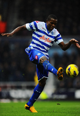 LONDON, ENGLAND - JANUARY 19:  Loic Remy of Queens Park Rangers controls the ball during the Barclays Premier League match between West Ham United and Queens Park Rangers at Upton Park on January 19, 2013 in London, England.  (Photo by Mike Hewitt/Getty I