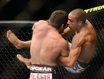 Barboza gets slammed by Varner in his previous outing.