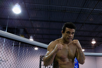 Vitor Belfort. God not pictured.
