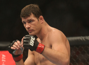 Michael Bisping lost a tough one against Vitor Belfort and was knocked out of title contention.