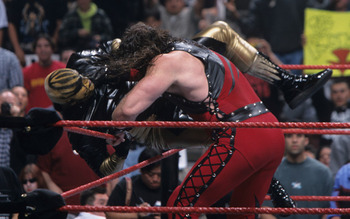 Goldust just one of Kane's many victims over the years (Image Obtained From WWE.com)