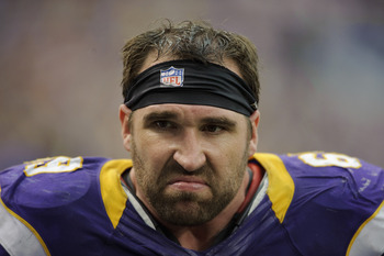 Jared Allen was the highest-paid Viking in 2012, with a salary cap hit of $15.2 million.