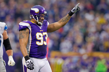Kevin Williams has only missed four games in 10 seasons with the Vikings.