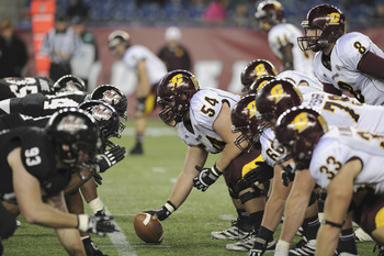 Central Michigan Chippewas Tackle Eric Fisher