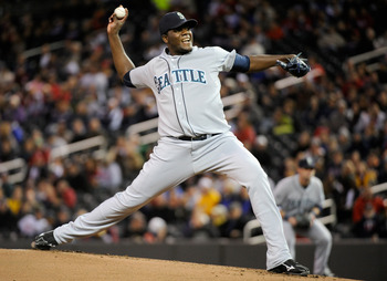 Michael Pineda with Seattle.