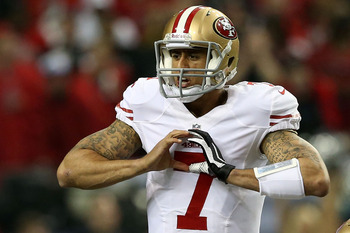 49ers fans love you too, Kaepernick.