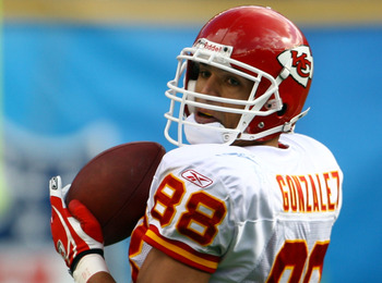 Gonzalez played 12 seasons with the Kansas City Chiefs