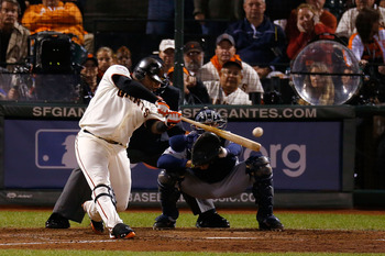 Pablo Sandoval blasted three home runs in the first game of the World Series.