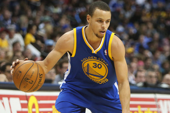 Stephen Curry is the team's leader in the backcourt.