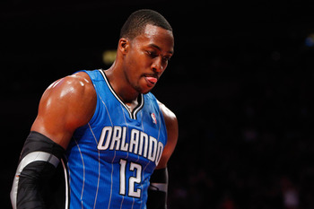 Dwight Howard, then, of the Orlando Magic