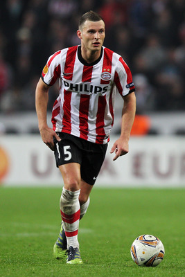PSV defender Erik Pieters is nursing a cut arm and his pride after this weekend.