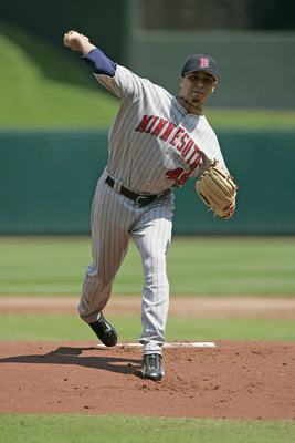 Kyle Lohse struggled in the American League when he pitched for the Twins from 2001 to 2006.