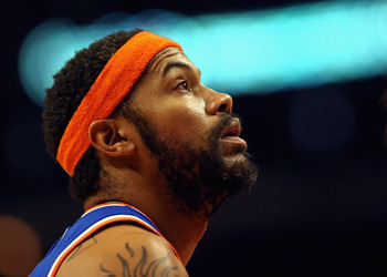 The Knicks have missed Rasheed Wallace's defense.