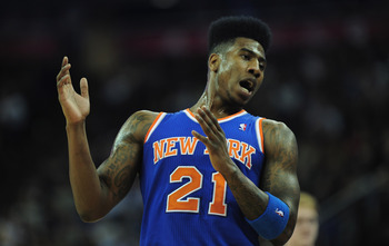Iman Shumpert needs to play well for the Knicks to excel in the playoffs.