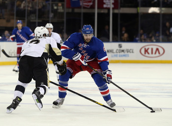 The Rangers need Nash to contribute on offense.