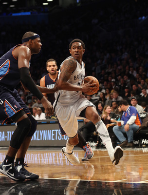 MarShon Brooks has received little playing time this season.