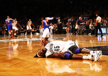 Gerald Wallace's tenacious play puts his body on the line.