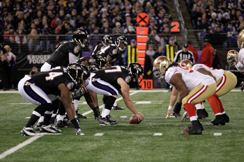 Super Bowl XLVII will be won and lost in the trenches.