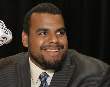Kentucky offensive guard- Larry Warford
