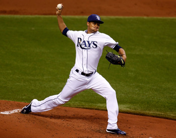 Tampa Bay right-hander Chris Archer.