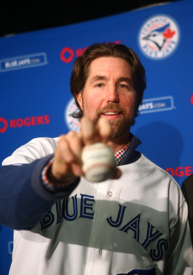 Toronto ace and NL Cy Young Award winner R.A. Dickey.