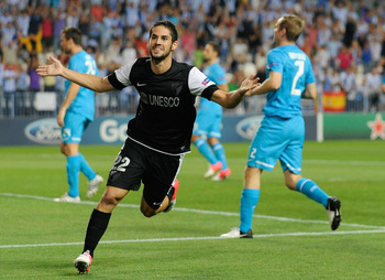 Although his price-tag is pretty expensive, Malaga's Isco may be headed to Stamford Bridge.