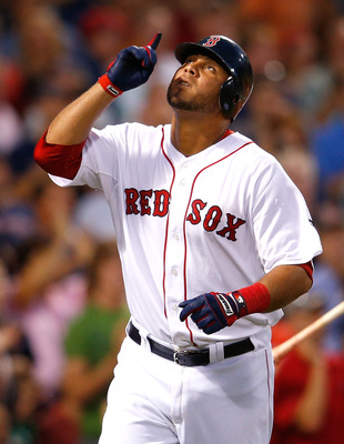 Gomez could play quite a bit in 2013 if injuries strike the Red Sox.