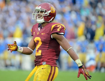 Woods wasn't as dominant in 2012 as scouts had expected, but he could still go high in the draft. If teams are scared off by his injury history, he could fall to the Redskins in the second or third round.