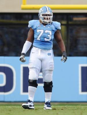 Brennan Williams is a bit raw, but he could develop into a very good player at the tackle position. Photo courtesy of enterprisenews.com.