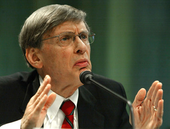 Bud Selig had much to answer for when testifying before Congress in 2005.