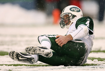 This was not the lowest moment in Brett Favre's tenure with the New York Jets.