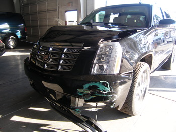 Tiger Woods' Cadillac Escalade may have been involved in the most expensive car accident ever.