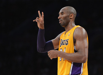 I think the No. 2 seed is out of reach, Kobe.