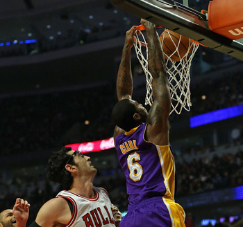 Earl Clark only got to play when three big men for Lakers went down with injuries.