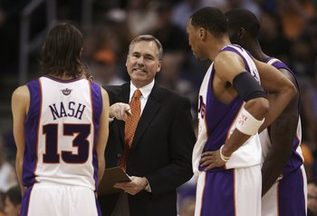 The Phoenix Suns of eight years ago were tailor-made for speed, movement, quick shots and up-tempo pace.  Lakers are built differently.