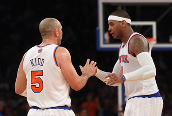 Jason Kidd's leadership and experience are second to none; pairing that with an elite athlete like Carmelo Anthony and you're on to something special.
