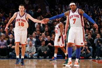 When Steve Novak can connect from three-point land, he allows Melo to take a breather, and coach doesn't need to worry about putting points on the board.