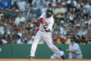 David Ortiz hit a walk-off single against the Yankees on July 26, 2003.
