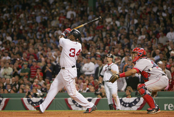 David Ortiz hits a walk-off home run in Game 3 of the ALDS.