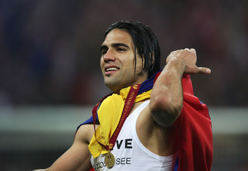 Bayern Munich are said to be keen on acquiring Falcao's services.