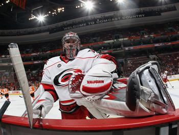 Canes goalie Cam Ward won the Conn Smythe Award as playoff MVP in 2006.