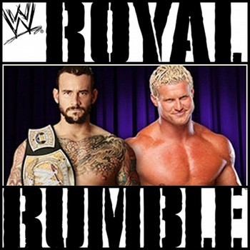 Punk and Ziggler faced off for the WWE title at last year's Royal Rumble. (photo credit: wwe.com)