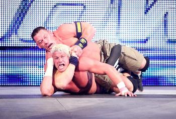 Will Cena begin the Rumble with Ziggler? (photo credit: wwe.com)