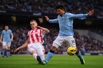 Ryan Shawcross' tackling has been a major facet for Stoke City.